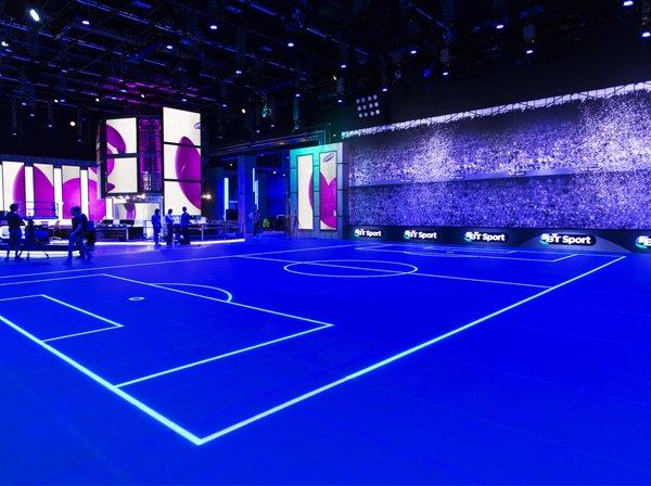 ASB Glass Floor pavimento led vetro sportivo