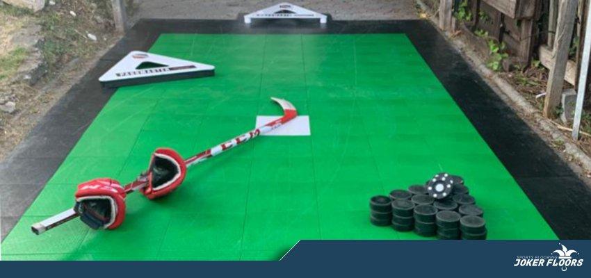 joker hockey box court roller inline hockey practice tiles