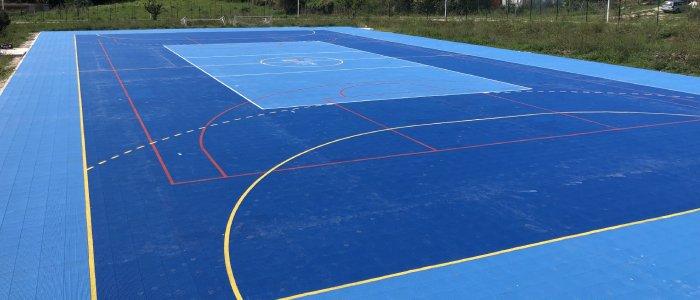 Joker sport duo modular sport court interlocking