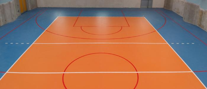 omnisports tarkett multiuse 6.2mm pavimento pvc a teli sportivo