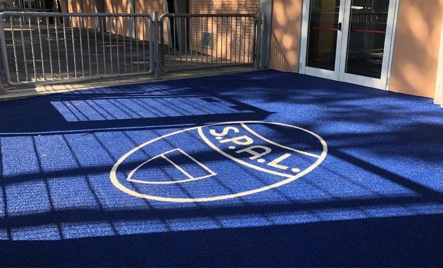 zerbini personalizzati tappeti sportivi impianti entrata palestra