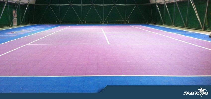 Joker Sport flooring tiles modular low cost indoor
