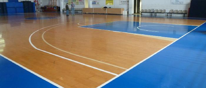 pavimento parquet sportivo