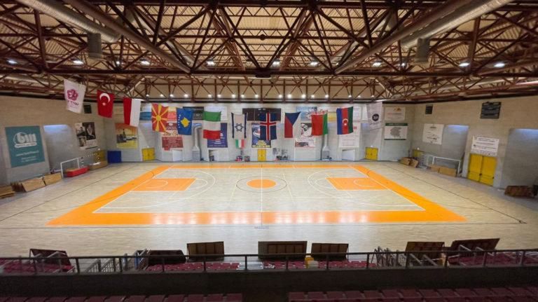 parquet sportivo basket