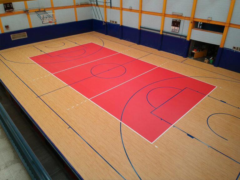 pavimento pvc sportivo omnisport tarkett taraflex