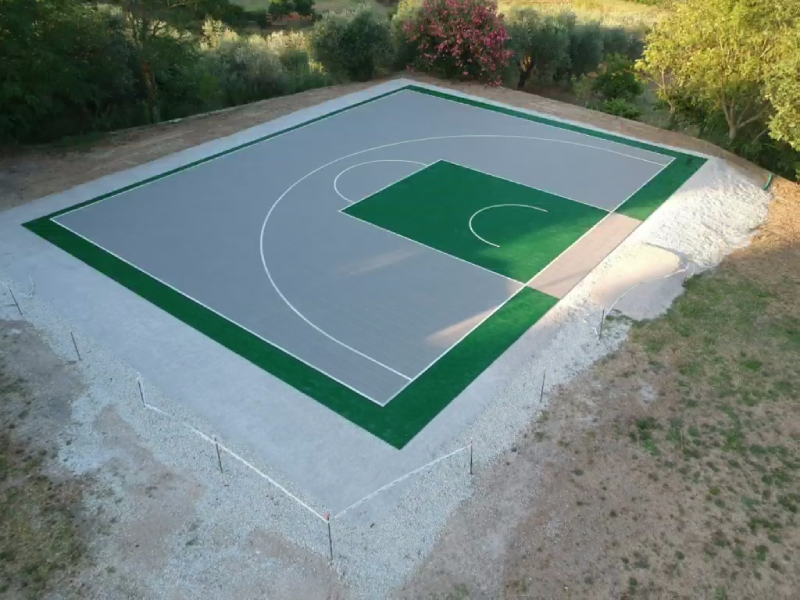 campo basket 3x3 playground