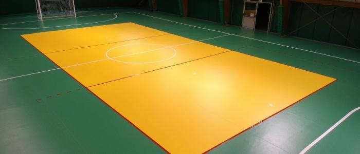 omnisports tarkett training 5.0mm pavimento sportivo pvc teli