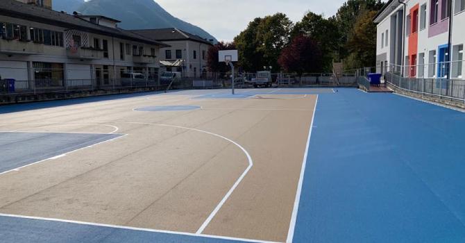 impronta foca mondo pvc esterno gomma sportivo pavimento