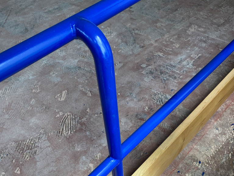 balaustre pattinaggio tubolari